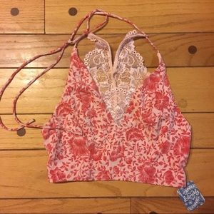 Intimately free people pink bralette. Size XS
